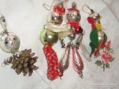 Antik régi vintage ritka karácsonyfadísz almandin02 részére