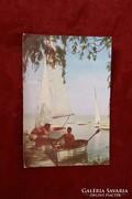 Üdvözlet a Balatonról - képeslap