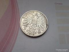 1912 magyar ezüst 2 korona gyönyörű db,keresett érme
