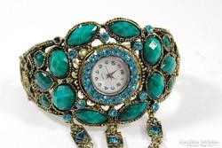 Antik stílusú karóra gyűrűvel