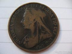 Anglia 1 Penny 1898 !!!