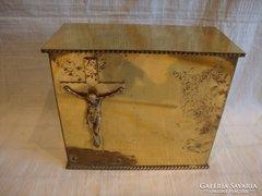 Réz urna Jézussal