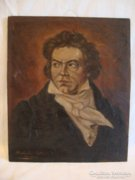 Ludwig von Beethoven portré festmény 1947