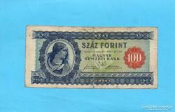 Ritka 100 forint 1946
