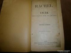 1902. Judaika -Női imakönyv Schwarz Ignácz Könyvkereskedés
