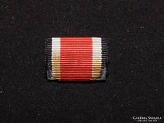 Vaskereszt  25 mm széles szalagsáv Eisernes Kreuz 1939