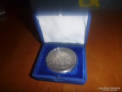 Bécs-Budapest világkiállítás  ezüst kiállítói emlékérem!