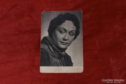 Bánki Zsuzsa - postatiszta képeslap