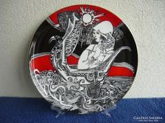 Szász Endre - Tengerészlány című tányérja eladó + ajándék