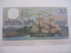 Austrália 10 Dollár 1988 Polymer UNC