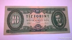 1957-es ropogós 10 forintos bankjegy!