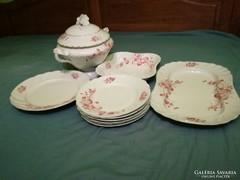 Antik porcelán vacsorázókészlet