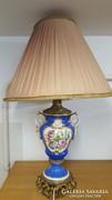 Gyönyörű porcelán asztali lámpa