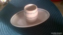 Biedermeier antik porcelán