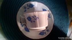 Biedermeier bécsi teás csésze aljjal