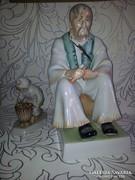 2db Zsolnay figura