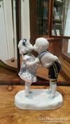 Az első csók - ritka Altwien porcelán eladó