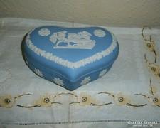 Angol Wedgwood jáspis porcelán bonbonier