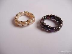 Gyöngy gyűrűk