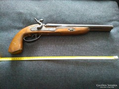 Dupla csövű  antik pisztoly!
