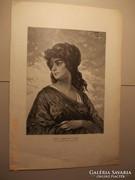 Festményröl készült kép 1880-as évek