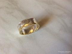 14K egyedi aranygyűrű