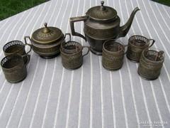 Antik Argentor A.S teáskészlet
