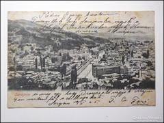 Bosznia Sarajevo 1905 hosszúcímzés , katonai bélyegzés