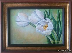 Szilárd Anikó: Tulipántok