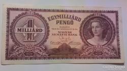 Egymilliárd Pengő 1946 VF