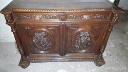 Barokk tálaló szekrény
