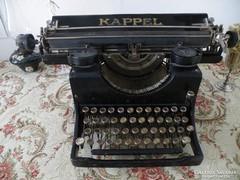 Antik, gyönyörű KAPPEL asztali írógép