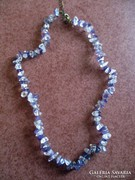 Hegyikristály - ametiszt nyaklánc