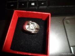 Klasszikus fazonú ezüst gyűrű
