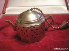 Angol,teafű tartó pici kanna