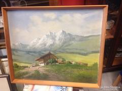 Mesterházy Dénes festmény eladó