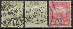 Turúl perfines bélyegek