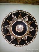 Czúgh Dezső kerámia tányér, falitányér