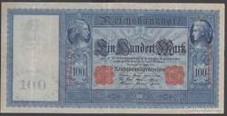 1910. Reichsbanknote, 100 R.Mark.