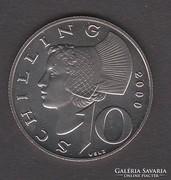2000. Ausztria, 10 Schilling, UNC