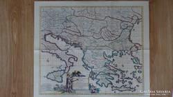 Térkép Közép-dél Európa