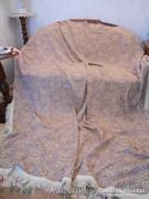 Ágytakaró/ szőttes szerű/ 210x245 cm + rojt 9 cm