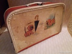 Régi bőrönd, gyerekbőrönd