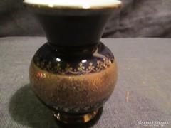 Aranyozott mintás váza A044