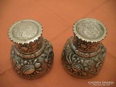 Roemer ezüst menyasszonyi pohár/kupa párban