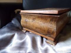 Antik fa doboz-igazi régiség