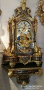 Hatalmas,csodaszép antik boulle óra!