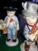 Három kicsi német porcelán