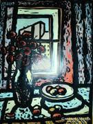 Zsille Győző festménye