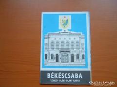 BÉKÉSCSABA TÉRKÉP 1984/85